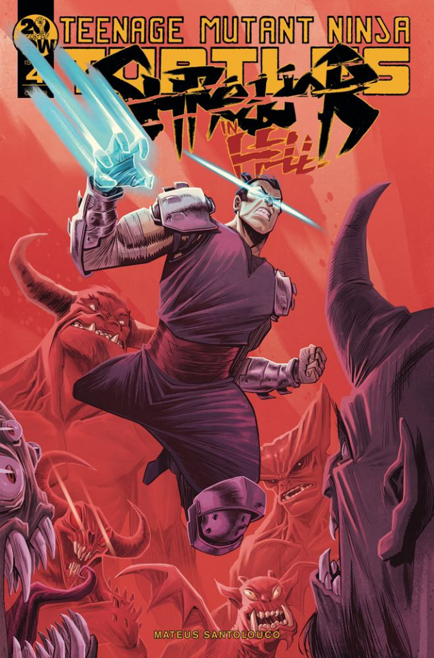 Teenage Mutant Ninja Turtles: Shredder in Hell #4 (10 Copy Costa Cover)