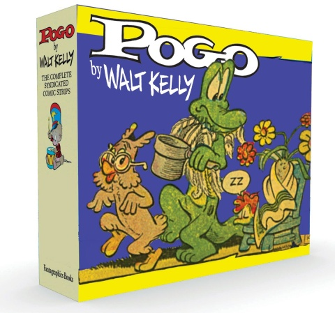 Pogo: The Complete Syndicated Strips Vols. 3 & 4 (Box Set)