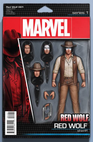 Red Wolf #1 (Christopher Action Figure Cover)