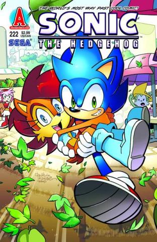 Sonic the Hedgehog #222
