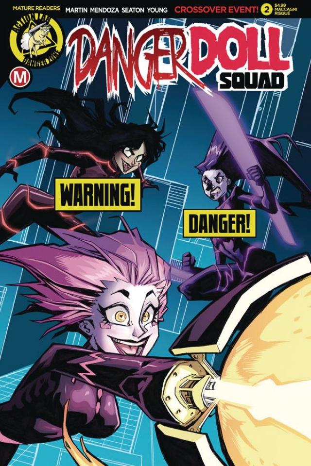 Danger Doll Squad #2 (Maccagni Risque Cover)
