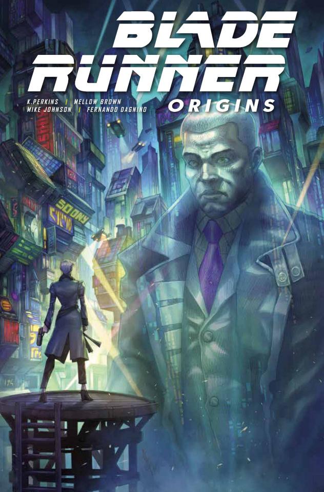 Blade Runner: Origins #8 (Quah Cover)