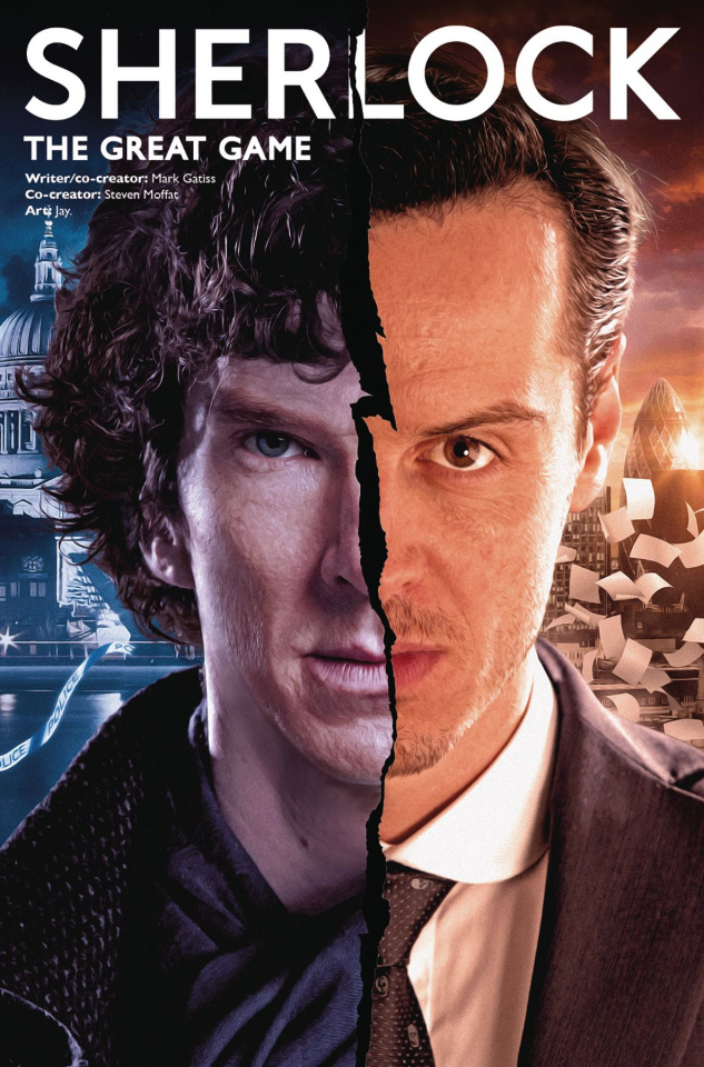Sherlock: The Great Game #6 (Photo Cover)