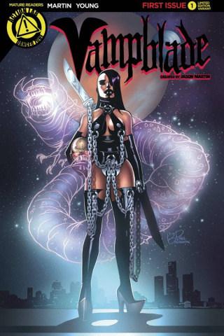 Vampblade #1 (Homage Cover)