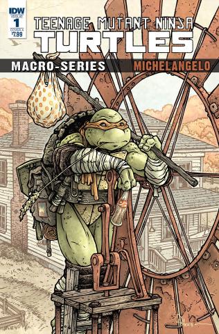 Teenage Mutant Ninja Turtles Macro-Series 2: Michelangelo (Petersen Cover)