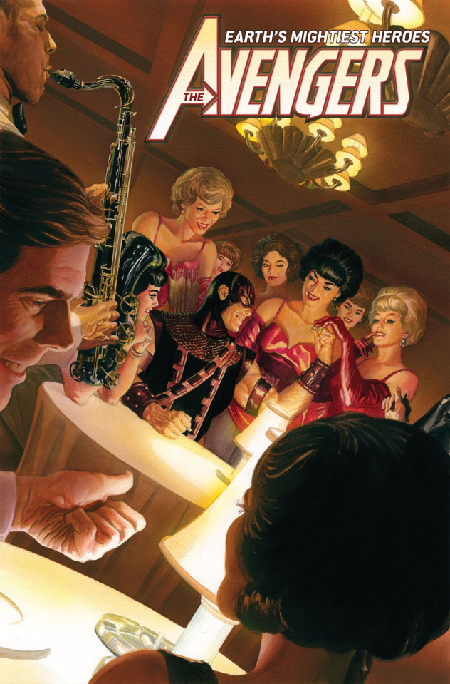 Avengers #23 (Alex Ross Marvels 25th Anniversary Cover)