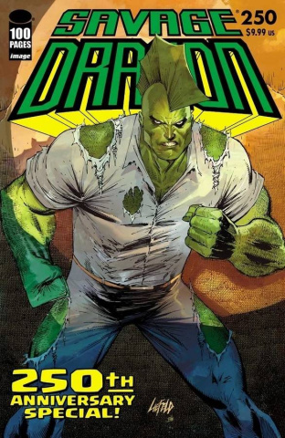 Savage Dragon #250 (Liefeld Cover)