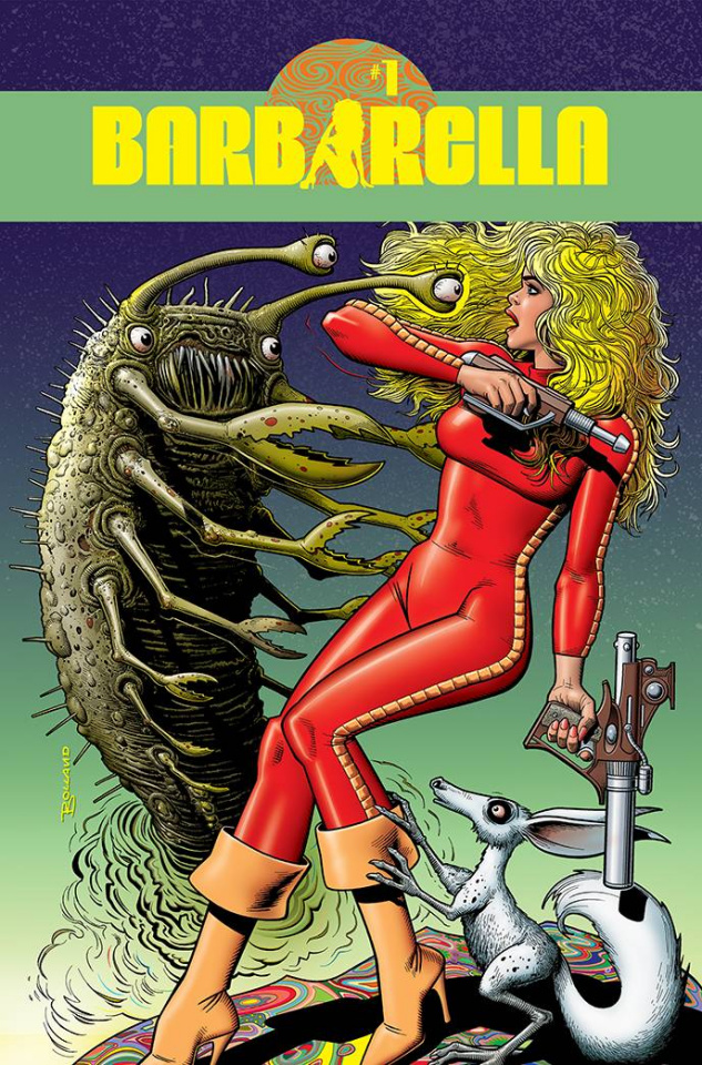 Barbarella #1 (Bolland Cover)