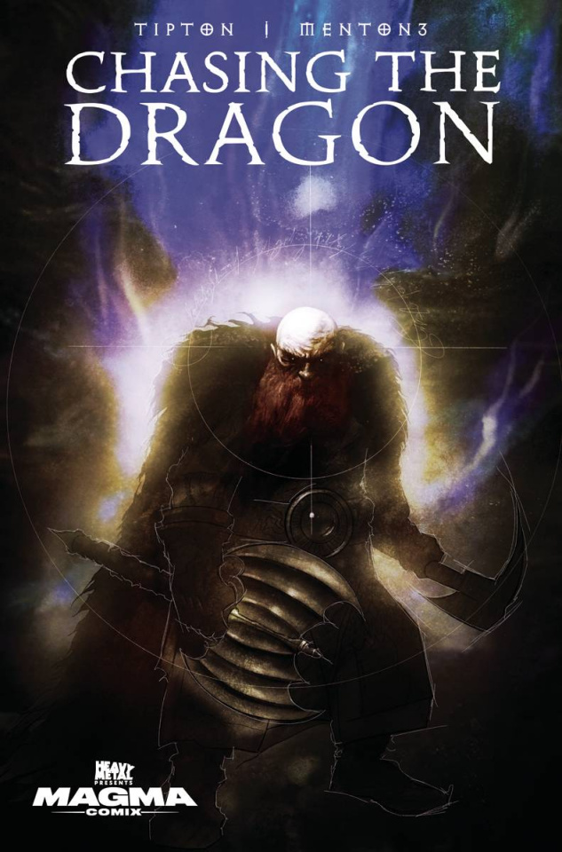 Chasing the Dragon #3 (Menton3 Cover)