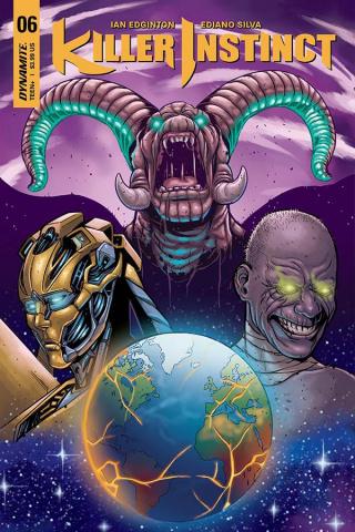 Killer Instinct #6 (Sarraseca Cover)