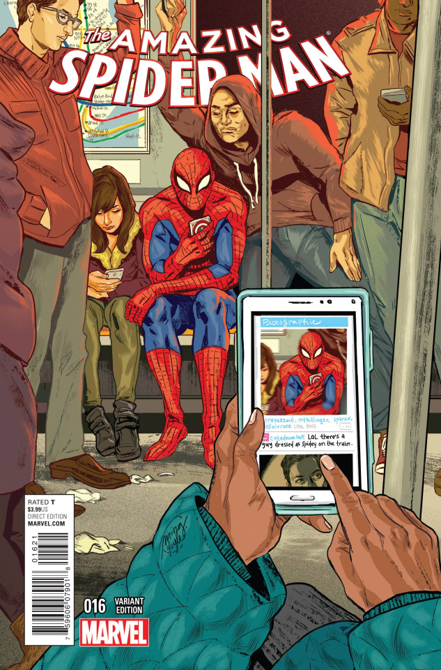 The Amazing Spider-Man #16 (Women of Marvel Cover)