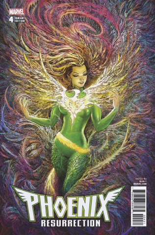 Phoenix Resurrection: The Return of Jean Grey #4 (Singh Cover)