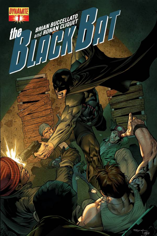 The Black Bat #1 (Syaf Cover)