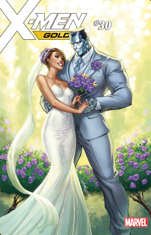 X-Men: Gold #30 (Kitty & Colossus Cover)