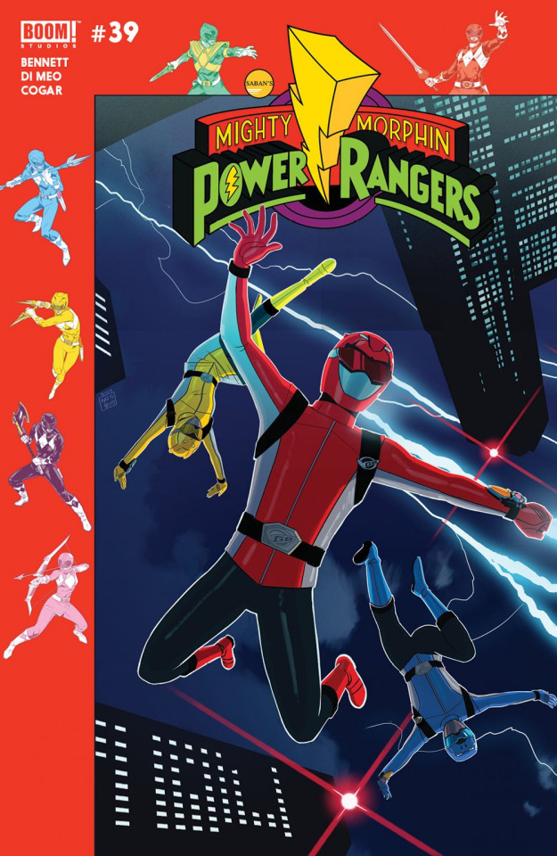 Mighty Morphin' Power Rangers #39 (Preorder Gibson Cover)
