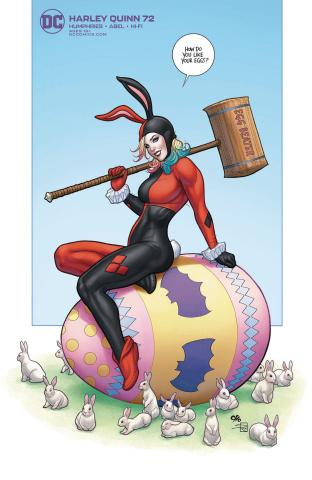 Harley Quinn #72 (Frank Cho Cover)