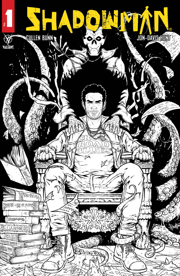 Shadowman #1 (#1-12 Pre-Order Bundle Moore Cover)