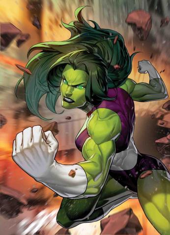 Fantastic Four #3 (Sujin Jo Marvel Battle Lines Cover)