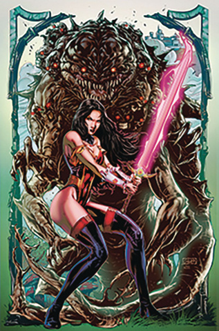 Grimm Fairy Tales #35 (White Cover)
