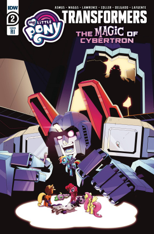 My Little Pony / The Transformers II #2 (10 Copy Adam Bryce Thomas Cover)