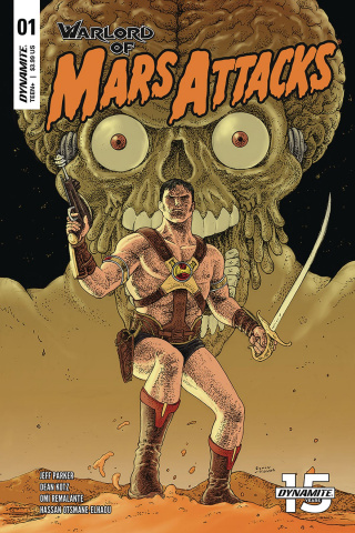 Warlord of Mars Attacks #1 (Villalobos Cover)