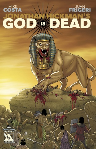God Is Dead #23 (End of Days Cover)