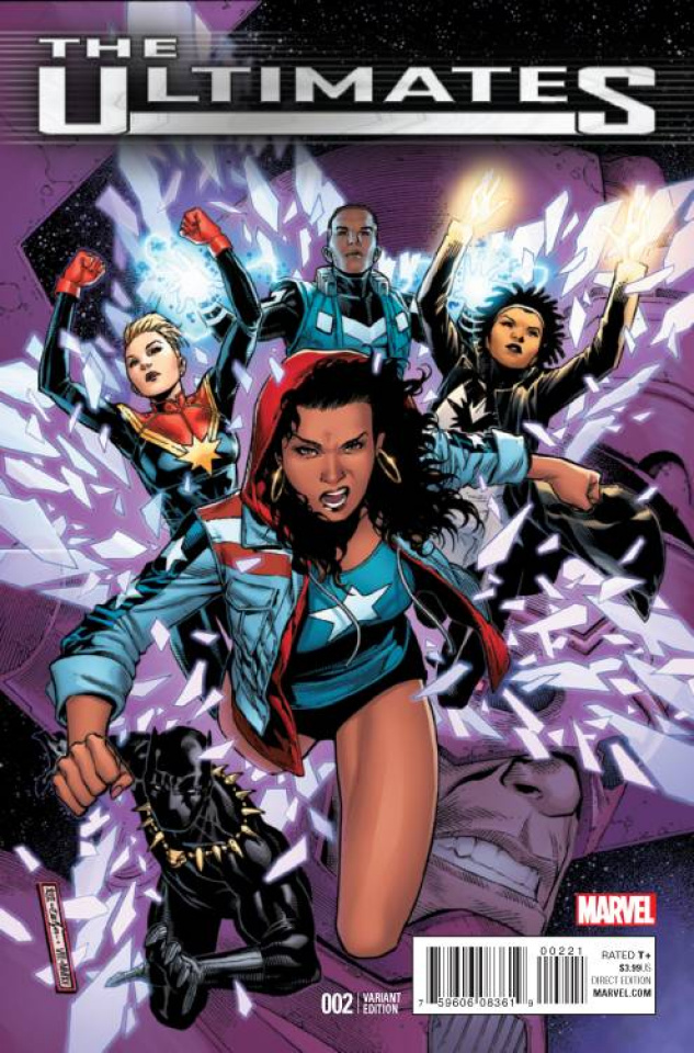 The Ultimates #2 (Cheung Cover)