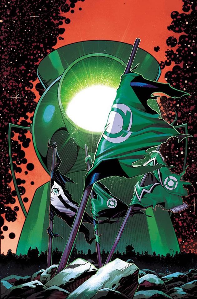 Hal Jordan and The Green Lantern Corps #37 (Variant Cover)