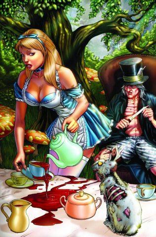 Grimm Fairy Tales: Wonderland - Down the Rabbit Hole #3 (Spay Cover)