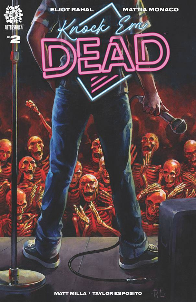 Knock 'Em Dead #2 (10 Copy Ray Lago Cover)