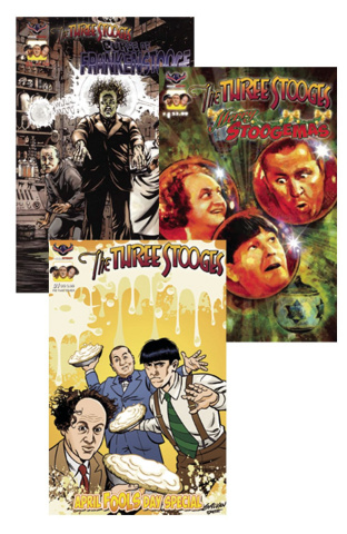 The Three Stooges Holidays Reader Set