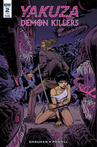 Yakuza: Demon Killers #2 (Subscription Cover)
