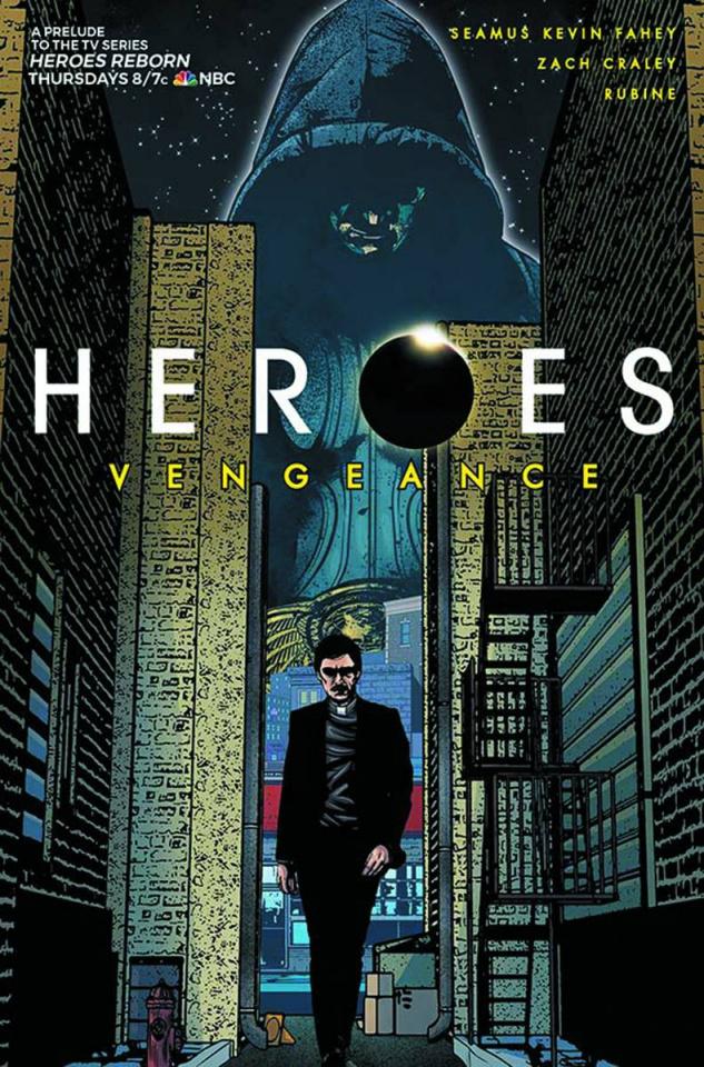 Heroes: Vengeance #3 (Rubine Cover)