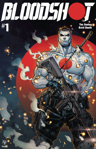 Bloodshot #1 (250 Copy Carbon Fiber Meyers Cover)