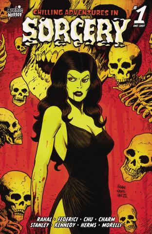 Chilling Adventures in Sorcery #1 (Francavilla Cover)