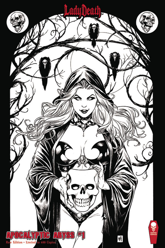 Lady Death: Apocalyptic Abyss #1 (Raw Cover)