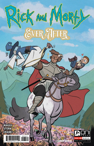 Rick and Morty: Ever After #3 (Helen Cover)
