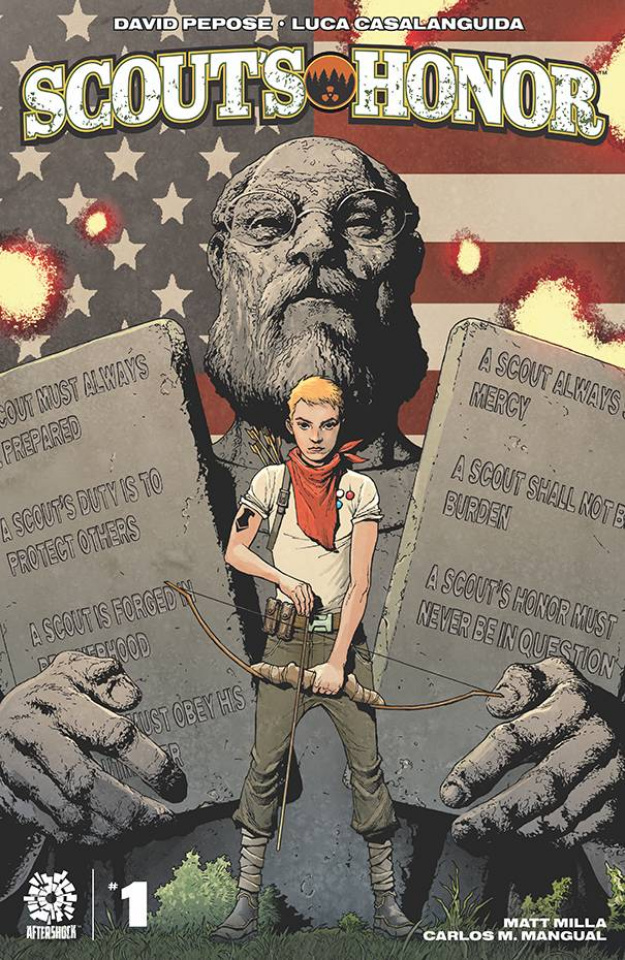 Scout's Honor #1 (Andy Clarke Cover)