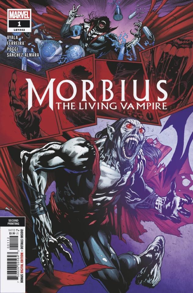 Morbius #1 (Ferreira 2nd Printing)