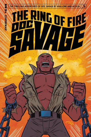 Doc Savage: The Ring of Fire #3 (Marques Cover)