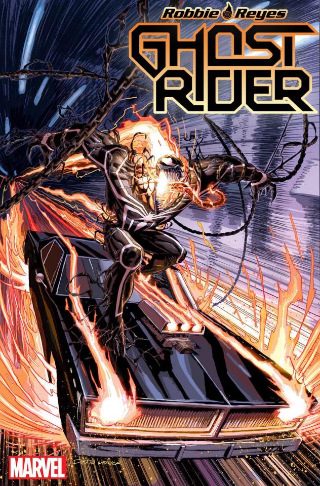 Ghost Rider #5 (Weaver Venomized Cover)