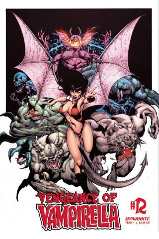 Vengeance of Vampirella #12 (Castro Bonus Cover)