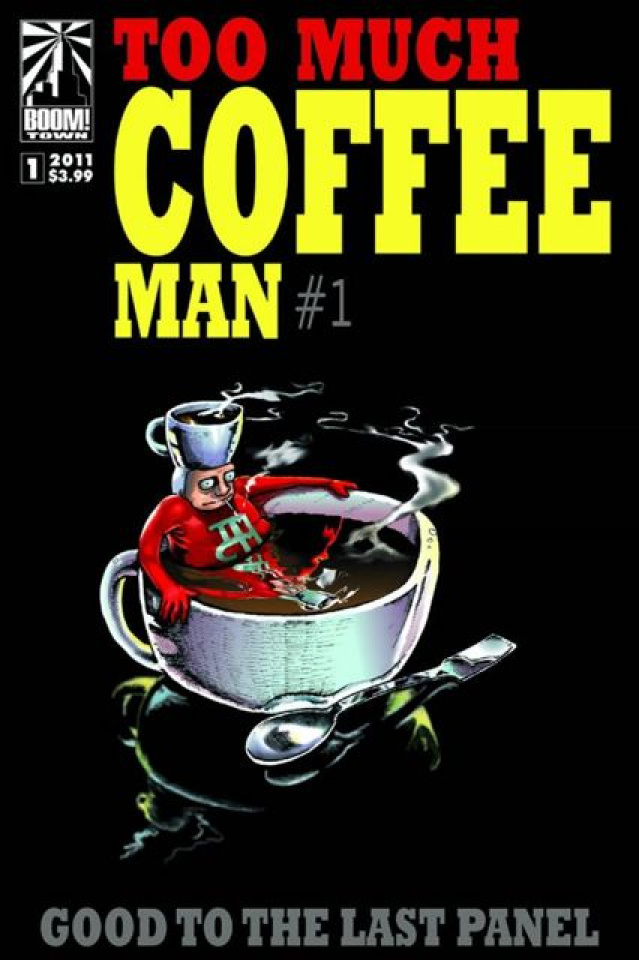 Too Much Coffee Man #1