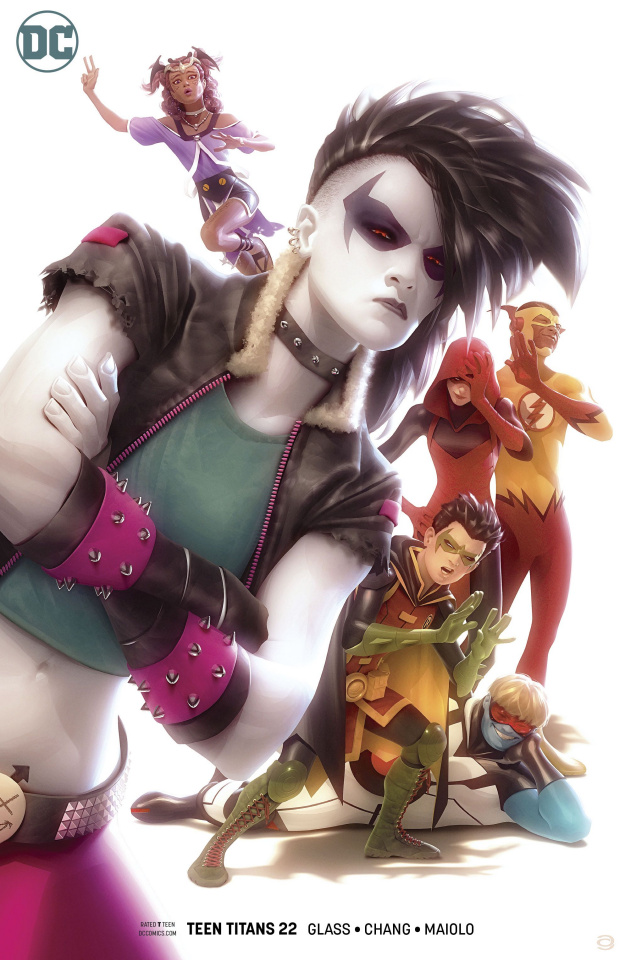 Teen Titans #22 (Variant Cover)