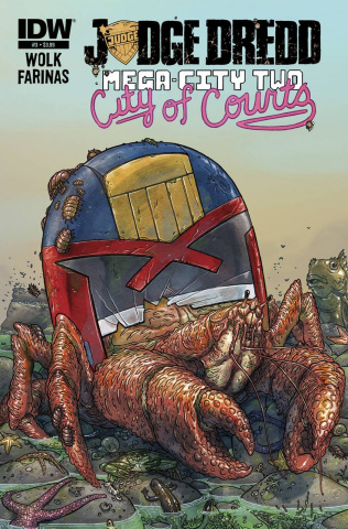 Judge Dredd: Mega-City Two #3