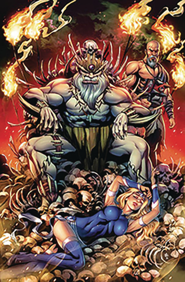 Grimm Fairy Tales #18 (Otero Cover)