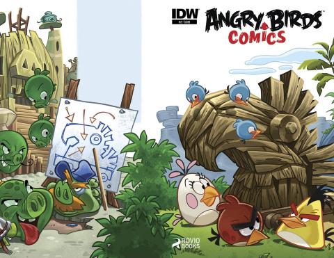 Angry Birds Comics #2
