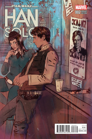Star Wars: Han Solo #2 (Lotay Cover)