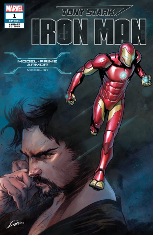 Tony Stark: Iron Man #1 (Marquez Armor Cover)