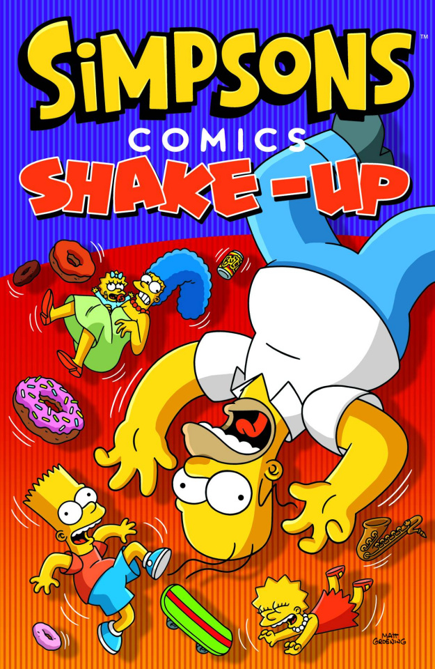 Simpsons Comics: Shake-Up